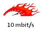10 Mbit – 1 maand